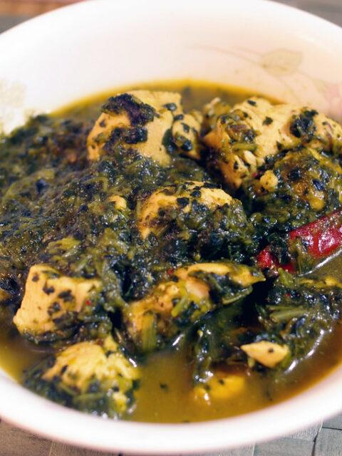 Indisches Saag Chicken